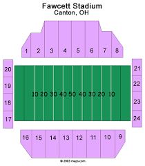 Canton Hall Of Fame Stadium Seating Chart Tom Benson Hall Of Fame Stadium Seating Chart At T Hall Of Fame