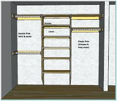 small walk in closet design layout simple designs
