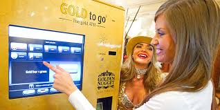 Gold Bar Vending Machine Las Vegas Cool Extraordinary Vending Machines Around The Globe Cheapflights