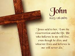 John 11 25 26 20 Bible Quotes Life After Death Web Insideme