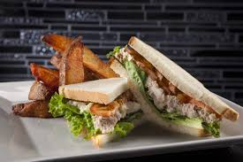 Tuna Salad Sandwich On White Bread Lettuce And Tomato Yelp
