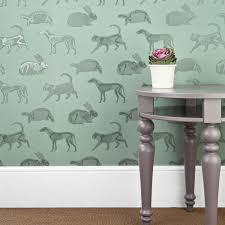 Kids Wallpaper For Bedroom Green Animal Kids Bedroom Wallpaper Animal Magic Paperboy