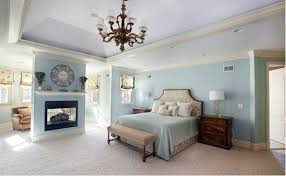 traditional blue bedroom ideas. Unique Traditional Bedroom Ideas Classic Chandeliers Fireplace Wall Color Blue Partition Inside Traditional Blue Bedroom Ideas