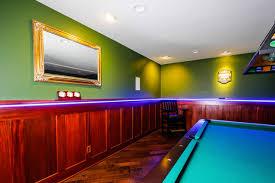 lighting for basement ceiling. led trim molding accent lighting and recessed ceiling lights in basement traditionalfamilyroom for