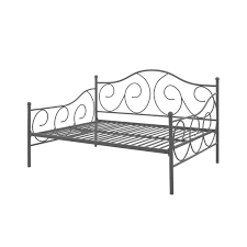 metal daybed. Wonderful Metal Full Size Metal Daybed Frame Contemporary Design Day Bed In Bronze Finish Intended