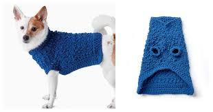 diy crochet dog coat