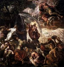 tintoretto mosesdrawingwaterfromtherock