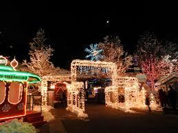 Ogden City Park Christmas Lights Ogdens Christmas Village Is The Best Winter Hike In Utah