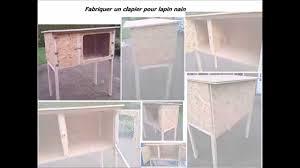 Fabriquer Un Clapier En Bois Pour Lapin Nain Youtube