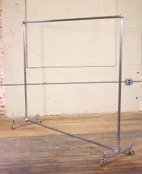 vintage garment rack. Plain Rack Vintage Art Deco Garment Rolling Coat Clothing Rack Stand Made From Cast  Aluminium With Garment Rack R