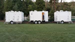 Bathroom Trailer Rental Enchanting Fancy Flush Restroom Trailer Rental 48 Photos 48 Reviews Party