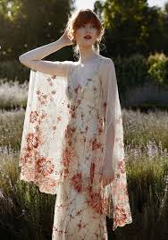 embroidered wedding dress. Boldly Boho Embroidered Wedding dresses with Colourful Florals