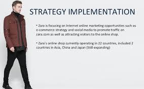 zara study case segmentation 33 strategy implementation bull zara