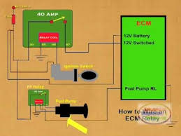 how to wire an ecm relay