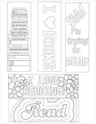 Bookmark Template Word Make Your Own Bookmarks Printable Coloring Bookmark Template