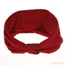 Bandeau En Coton Coloré Pour Femme Bandeau Large En Jersey Noué Pour Le Yoga Accessoires De Coiffure De Sport Chic Pour Femme
