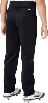 Adidas Boys Triple Stripe Open Bottom Baseball Pants