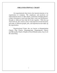 Organization Chart Doc Doc Organisational Chart Aishwarya Laxmi Academia Edu