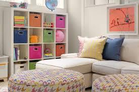 Basement Playroom Storage Ideas