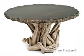 rustic round table. Round Log Dining Table - Rustic Tables, Furniture, Unique Custom Tables H