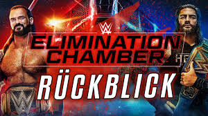 WWE Elimination Chamber 2021 RÜCKBLICK / REVIEW - YouTube