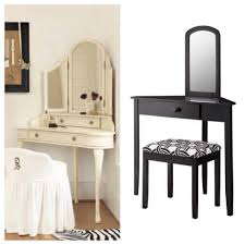 beautiful corner makeup vanity table collection including diy desk awesome design