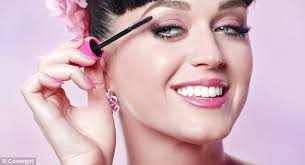 stunning spokesmodel katy perry starred in the latest advert for makeup pany cover presenting a