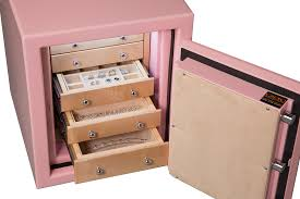 small jewelry safe with drawers for home