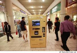 Gold To Go Vending Machine Impressive The Gold To Go Gold Vending Machine Comes To America Elite Choice