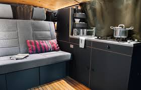 Nondescript VW Van Hides A Gorgeous And Chic Mobile Home - Mobile home bathroom renovation