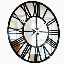 fancy design mirrored wall clock small home decoration ideas large mirror and decorating vibrant gr decor