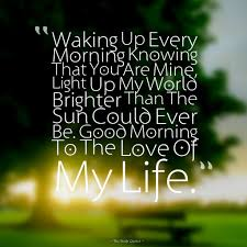 Good Morning My Sweet Love Quotes Best Of Cute Romantic Good Morning Wishes Images TheFreshQuotes
