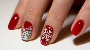 13 snowflake nail art designs for