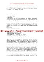 essay about education english