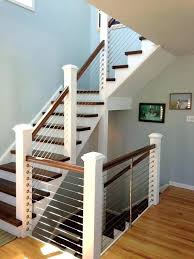 outdoor wooden stairs cable railings modern wooden stair railings edgy cable railing ideas for indoors and outdoor wooden stairs cable railings
