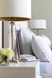 Mead Quin Designs an Elegant Family Home in Atherton | Rue  Gold LampsBedside  Table ...