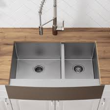 Khf203 36 Kraus Kitchen Sink 36 L X 21 W Double Basin Farmhouse