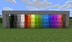 glass crafting guide in minecraft