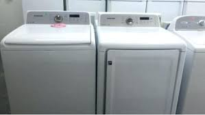 stackable washer and gas dryer. Used Stacked Washer And Dryer High Efficiency Top Load W Gas Stackable