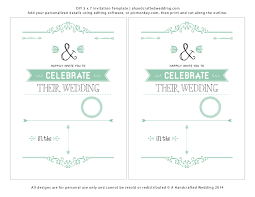 Free Downloadable Wedding Invitation Templates Invitation Word Templates Free Word Invitation Templates Free 44