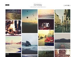 Wordpress Photo Gallery Theme Download Free Gridsby Wordpress Theme Justfreewpthemes