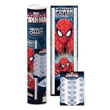 Spider Man 1 6m Height Chart Marker Stickers