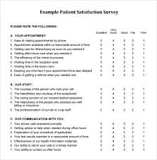 Customer Service Survey Template Free Client Satisfaction Survey Examples Under Fontanacountryinn Com