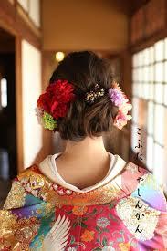 画像6つ目 和装髪型4 沢尻エリカ様風の記事より 結婚式2019