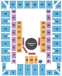 Martin Luther King Jr Arena Seating Chart Savannah