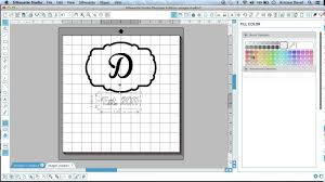 Small Picture Creating a design in silhouette design studio Garden Flag PART 1
