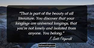 40 Best Quotes By F Scott Fitzgerald The Author Of The Great Gatsby Interesting Fitzgerald Quotes