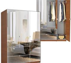wardrobe closet with mirror alta wardrobe armoire 3 door armoire right opening contempo space extra large