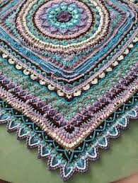 Crochet Patterns Gorgeous Jacaranda CAL Blanket Free Crochet Pattern Free Crochet Patterns