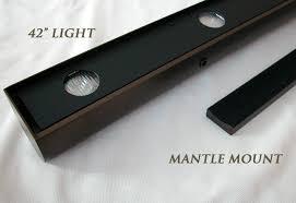 mantel lighting. mantel lighting